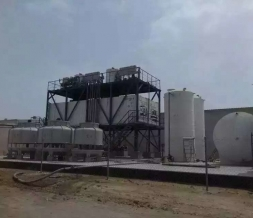 The largest set of ice processing enterprises in the Middle East