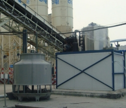 Industrial flake ice machine project