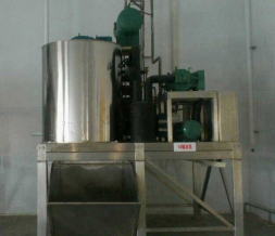 All stainless steel flake ice machine for food processing