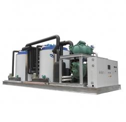 Large industrial flake ice machine