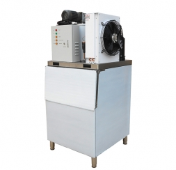 Small commercial flake ice machine